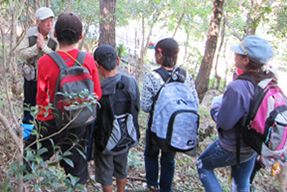 森や木に親しむ活動1